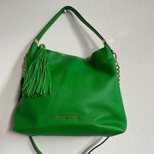 Michael Kors Green Shoulder Bag